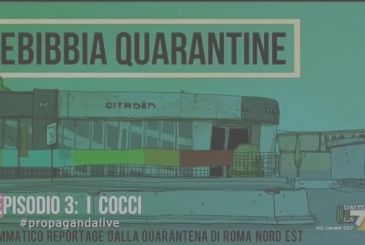Rebibbia quarantine: the third episode of the animated series of Zerocalcare at the time of the Coronavirus