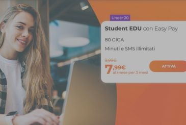 WindTre launches new offers EDU for Under 30 with 80 Giga, minutes and unlimited SMS starting from 7,99€