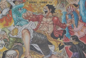 The One Piece Magazine: cover and first contents of the 9th number