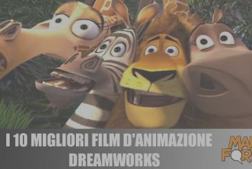 The 10 best films of DreamWorks animation