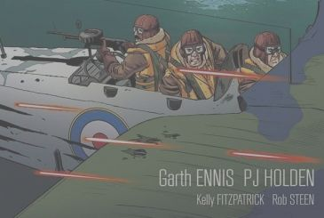 Editorial Cosmo announces The Stringbags of Garth Ennis