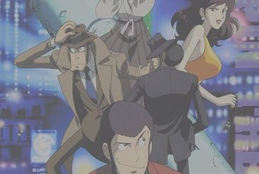 Lupin III vs Detective Conan – the movie and There was once a Lupin on Italy 2