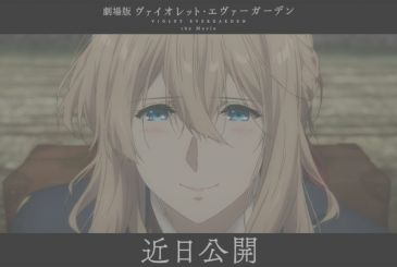 Violet Evergarden – the Film, which was postponed for the Coronavirus