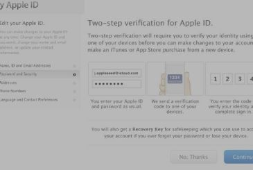 Apple and Google are working together to develop a standard format for the verification SMS two-factor