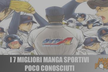 The 7 best manga of sports little known