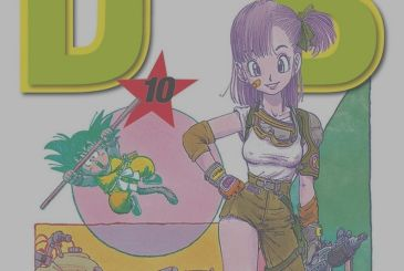 Dragon Ball, a pin-up of Bulma from Shunya Yamashita