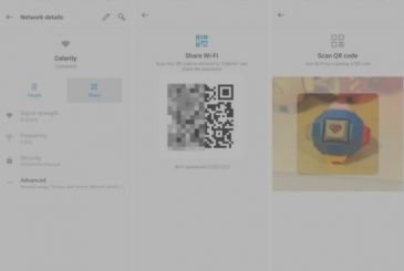 How to share your WiFi password with a QR Code on Android