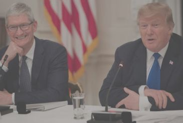 Tim Cook and other executives were joined by Trump to work on the relaunch of the economy of the country