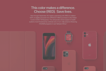 The proceeds of the sale of all of the devices (PRODUCT)RED will be donated to the fund for the COVID-19