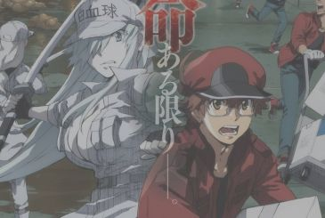 Cells at Work! Black, visual, and raw sequences of the anime