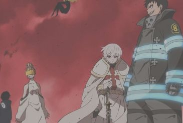 Fire Force, the first character design for the second season of the anime