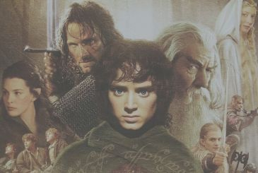 The Lord of the Rings, the trilogy on Channel 5