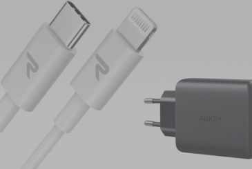 Cable Lightning to USB-C certified MFI to charge the iPhone faster, just a 6,31€