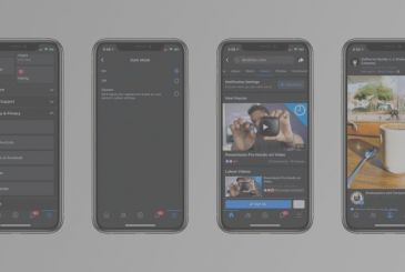 New images reveal the design of the app Facebook for iOS in the Dark Mode
