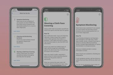 Apple updates the app to auto-screening COVID-19 with a new list of symptoms and other