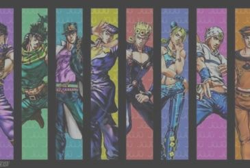 The Bizarre Adventures of JoJo: the t-shirts dedicated to the most beloved characters in