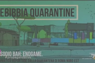 Rebibbia Quarantine – episode Bah: ENDGAME, the animated series of ZeroCalcare
