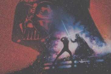 Star Wars, the poster of the Saga of the Skywalker