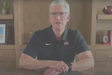 Tim Cook gave a speech virtual to graduates of the Ohio State University