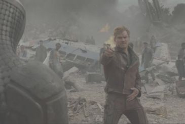 Guardians of the Galaxy: Kevin Bacon challenge Star-Lord to a dance