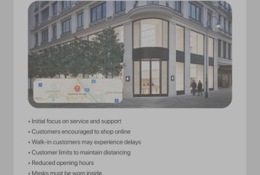The only Apple Store in the austrian should reopen tomorrow