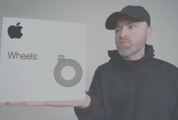 "Here is the first ""dramatic"" unboxing of the wheels for Mac Pro from 849€"