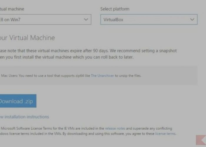 Download Windows virtual machines for free (and le    | BitFeed co