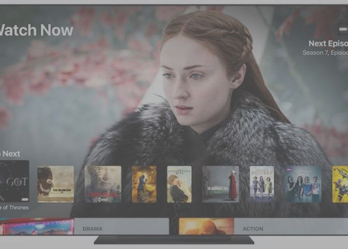 "The new application ""TV"" of iOS arrives in the    